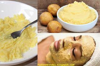 5 Resep Masker Kentang Untuk Wajah, Kentang salah satu bahan alamin untuk mencerahkan kulit kentang juga bisa memudarkan flek hitam dan meratakan warna kulit yang belang
