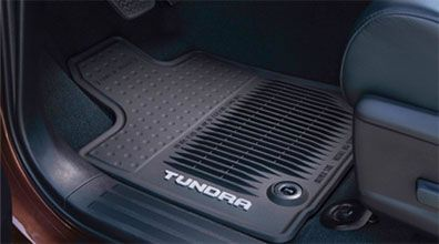 All Weather Floor Mats - Toyota Tundra Accessories