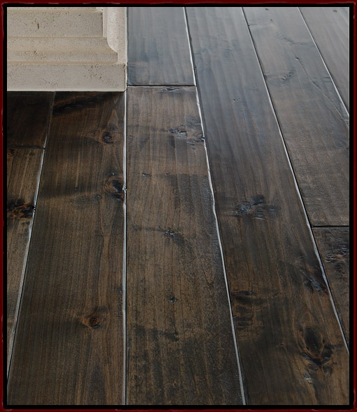 Chisel Cut Alder Hardwood Flooring In 5 Antequera By