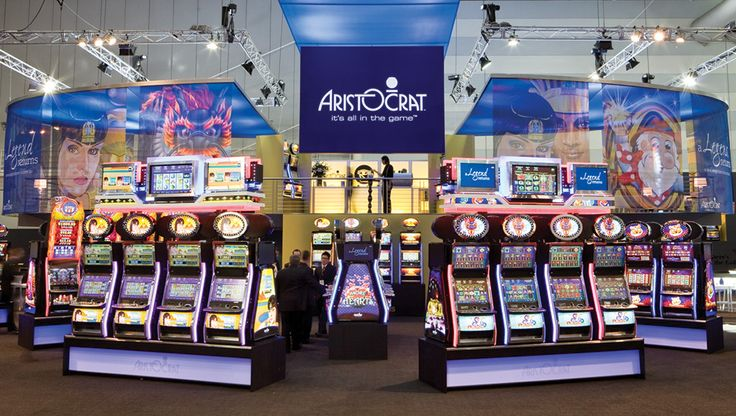 Aristocrat Exhibition Stand by e2.