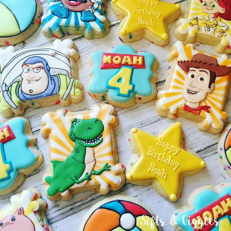 93 Best Cookies Toy Story Images On Pinterest Clip Art