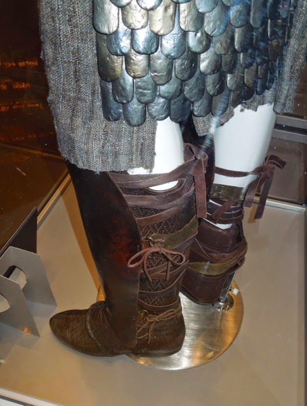 Moses boot costume detail Exodus: Gods and Kings