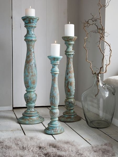 Tall Wooden Candle Holders - Foter