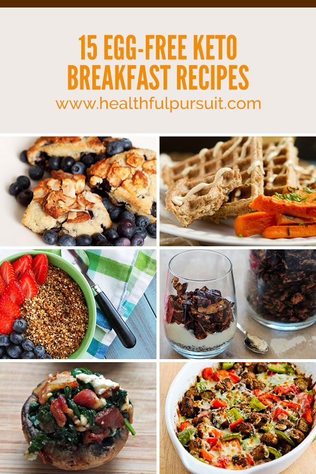 18 Best Images About Egg Free Keto Breakfasts On Pinterest
