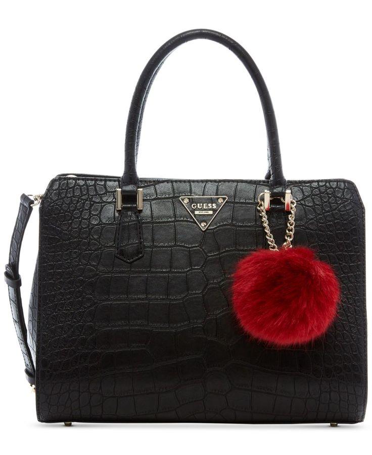 Guess Black Crocodile Handbag Handbags 2018