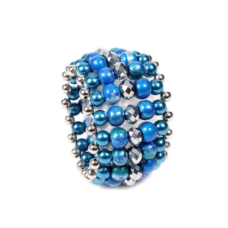 Bracelet - Papaya Moon - Scuba Blue