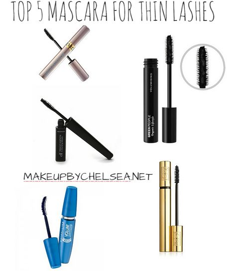 Best Mascara For Thin Lashes Volume