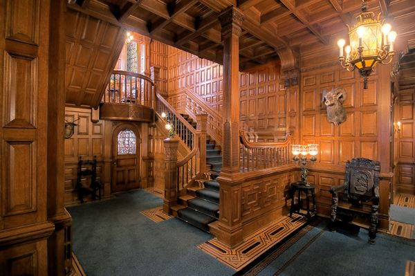 """Craigdarroch Castle, Victoria British Columbia's """"must see"""" attraction, is located a short drive or a leisurely walk from the downtown harbour. #my favorite place"""