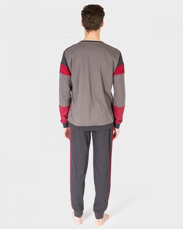 Pijama juvenil con puños en algodón - Varela Intimo bf338c61a3f