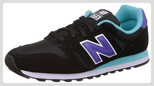 New Balance Damen Wl373 Lifestyle Funktionsschuh, Black (Black/001), 36.5 EU - Sneakers für frauen (*Partner-Link)