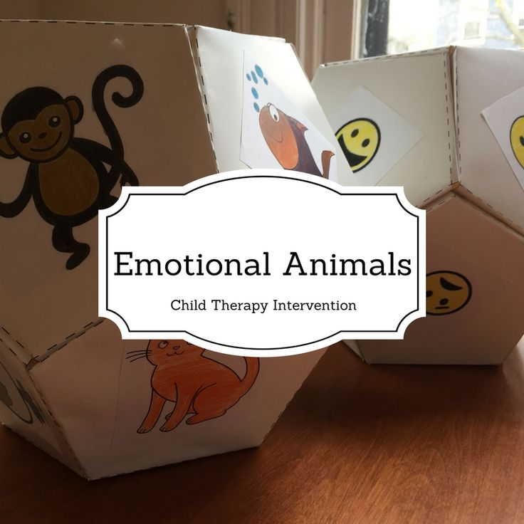 Emotional identification is something that is almost always worked on in child therapy. One fun way to do this is by using the emotional animals dice game! I have seen this game online before, but …