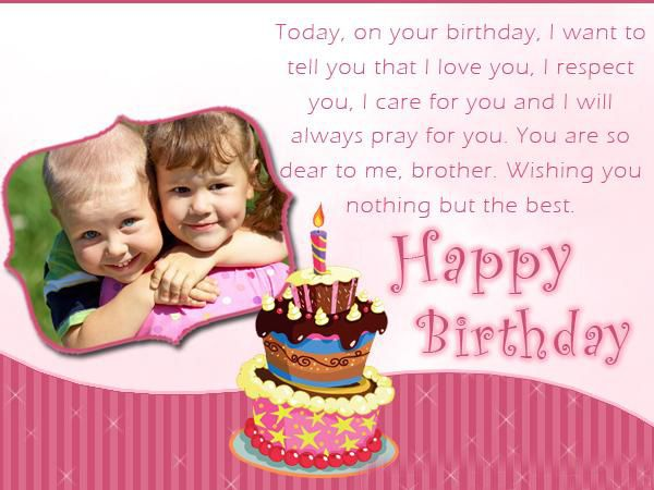 Birthday wishes for Li'l Brother: Take advantage of your brother's birthday as an opportunity. To say something sweet to him. Write a personalized message on a greeting card, send a cute text. Share some quotes on Pinterest or post something fun on your Facebook.