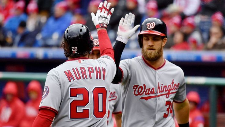 Nats' Bryce Harper, Daniel Murphy forcing pitchers to pick their poison #FansnStars