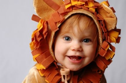 how to make lion costume for kids | baby in lion costume