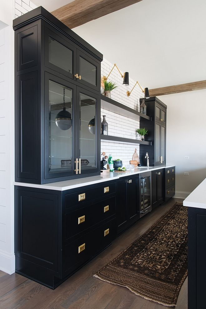 Super Benjamin Moore Black Black Cabinet Paint Color Home Interior And Landscaping Ologienasavecom