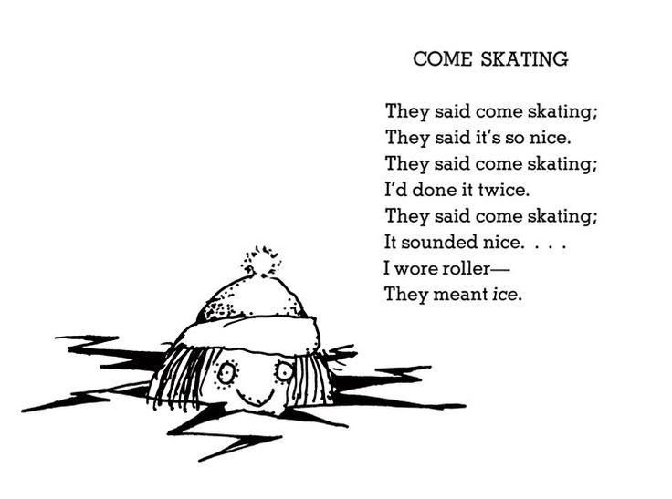 Shel Silverstein Come Skating 740 215 550 Shel Silver