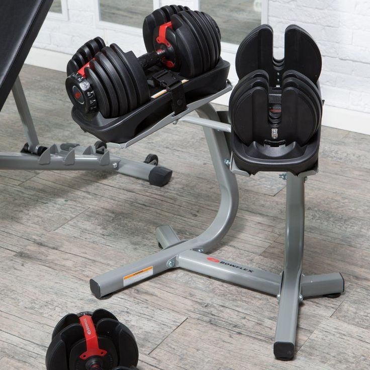Bowflex SelectTech 552 Adjustable Dumbbell Set - 5-52 lbs. - 100182