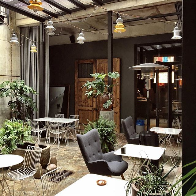 Thank god it's FRIDAY and we ❤our new wintergarden concept for @brummellkitchen and this great automatic closing system designed by @j_them #outdoorisindoor