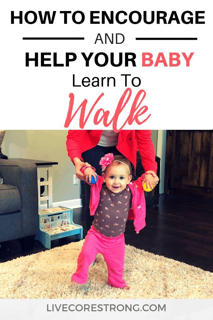 how do i encourage my baby to walk