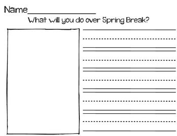 images about sdc writing on pinterest   personal narrative    spring break writing  amp  drawing