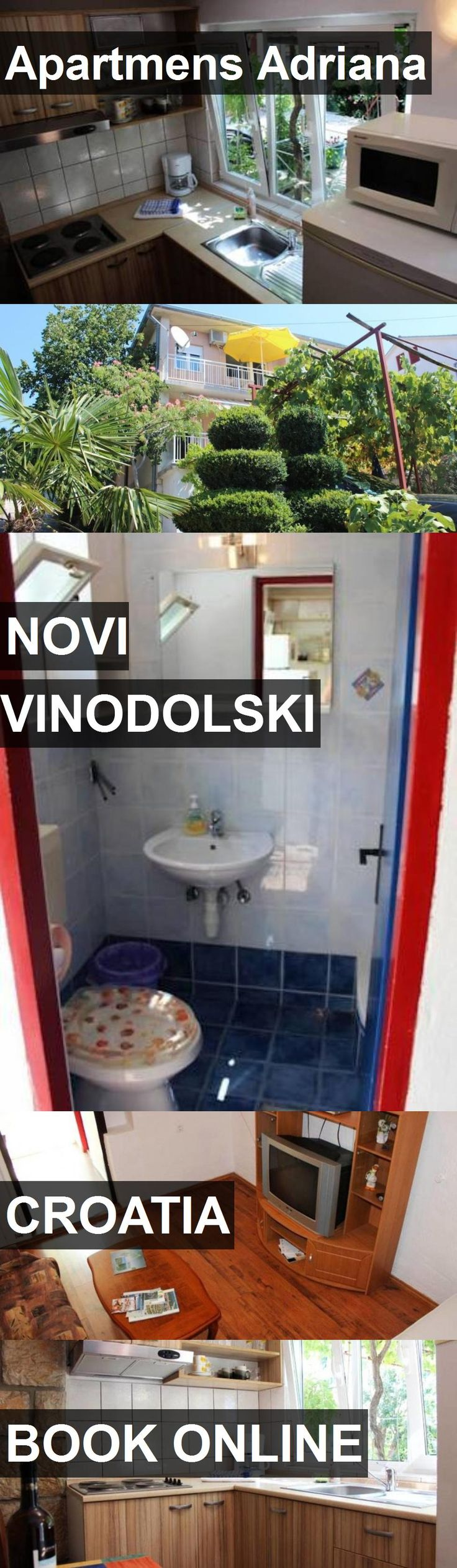 Hotel Apartmens Adriana in Novi Vinodolski, Croatia. For more information, photos, reviews and best prices please follow the link. #Croatia #NoviVinodolski #travel #vacation #hotel