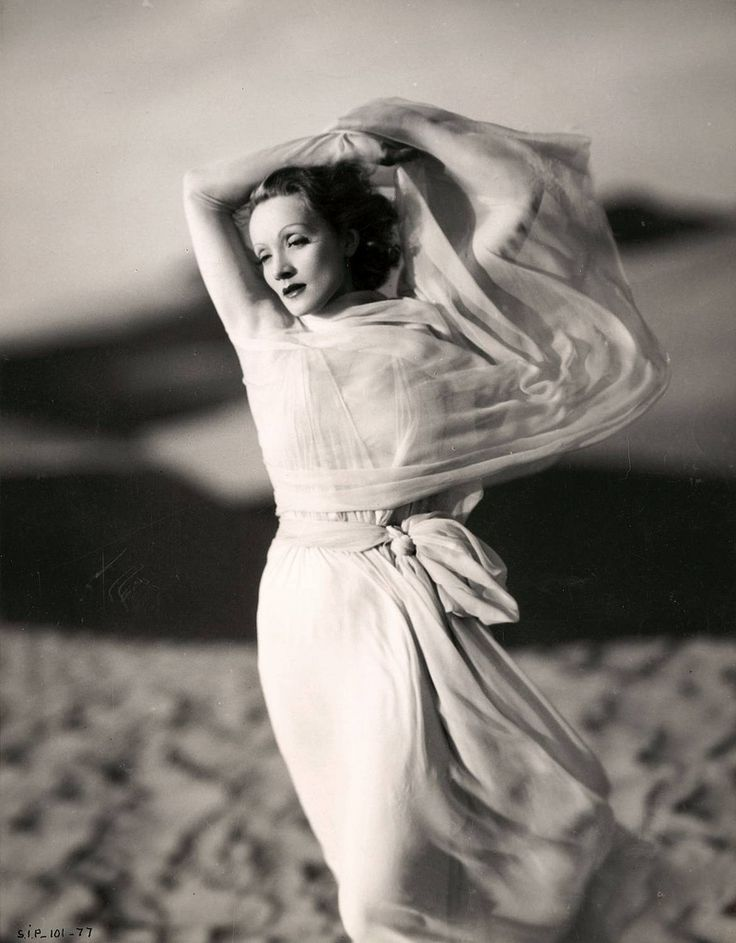 Marlene Dietrich (1901-1992) by Kenneth Alexander (1887-1975)
