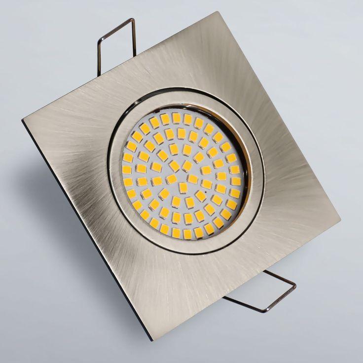 Nice Details zu LED Einbaustrahler Einbauspot Einbauleuchte W Spot Lampe Deckenspot Strahler