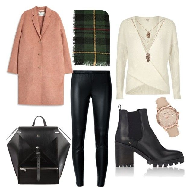"""""""Cold day"""" by fpantopikou on Polyvore featuring River Island, MICHAEL Michael Kors, Acne Studios, Barneys New York and Burberry"""
