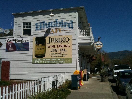 The Bluebird Café Hopland Ca