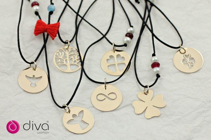 Colares Pompom com símbolos em Ouro ou Prata. #colarespompom #símbolos #ouro #prata  Encomendas:info@art-argentum.com