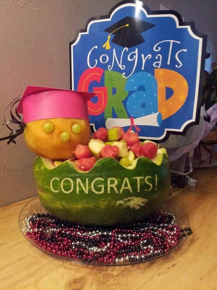 Graduation watermelon | Things Ive Done | Pinterest ...