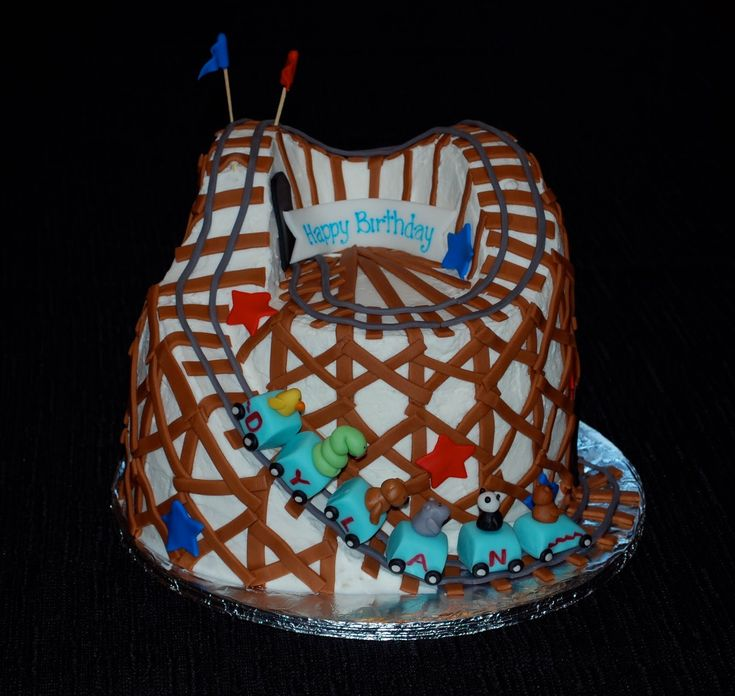 Lovely roller coaster cakes images Google Search