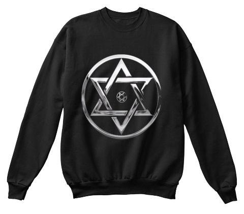 Hebreus Black Sweatshirt Front