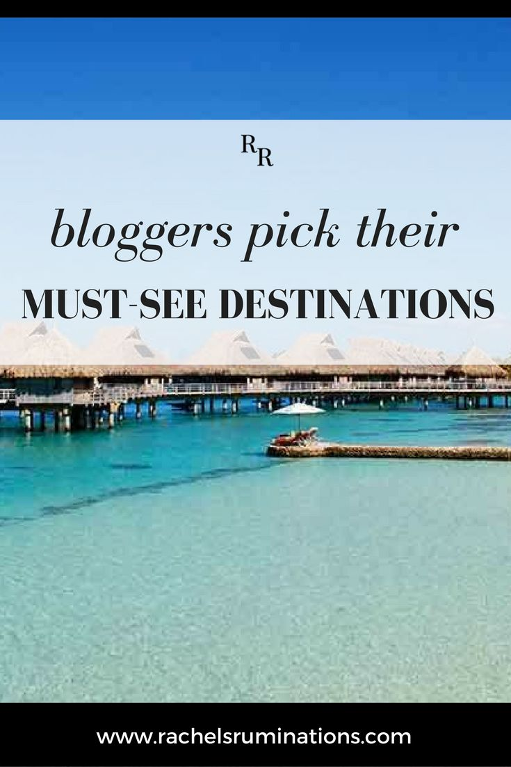 Trip Of A Lifetime: Bloggers Pick Their Must-See Destinations. For this collaborative post, I asked fellow travel bloggers about their idea of a trip of a lifetime:  If a person who's never traveled far from home asked you to name the one place they should visit on their one and only trip ever, what would you say? Click here to read their surprising responses!