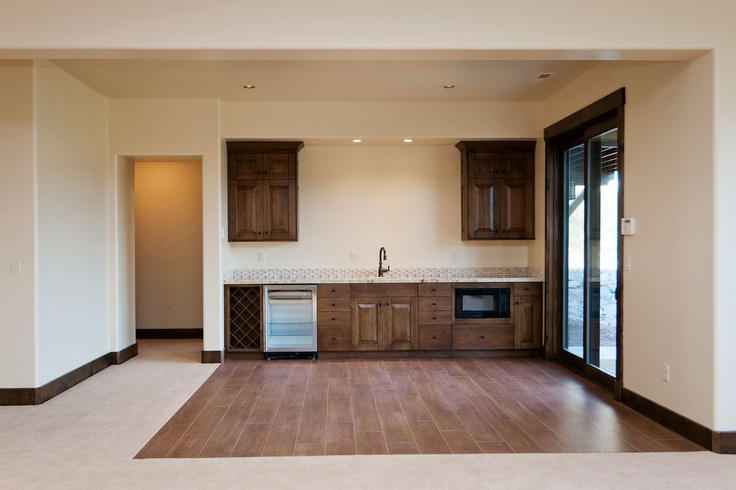 Second kitchen in basement by cameo homes inc in park for Utah basement