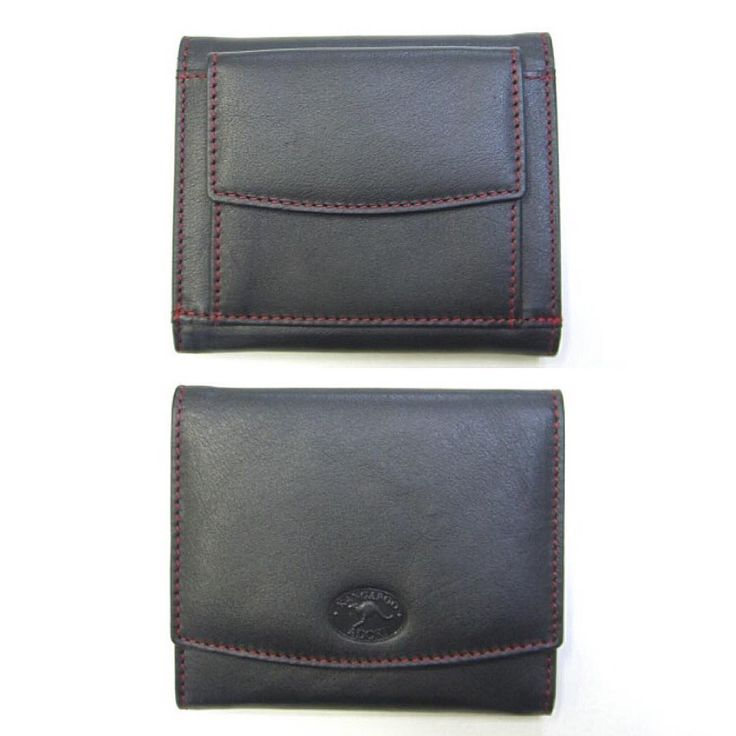 Kangaroo leather is one of a few Australian exotic leathers. Like other leathers it can be dyed in any colour and combined with other various colours to create a visually stimulating affect. It does however, have incredible toughness and extraordinary durability which makes it a leather of choice. This purse is a perfect example of the aforementioned factors.