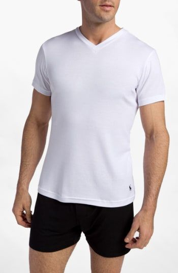You must buy Polo Ralph Lauren 2-Pack V-Neck T-Shirt (Big) 0acd2a1a8