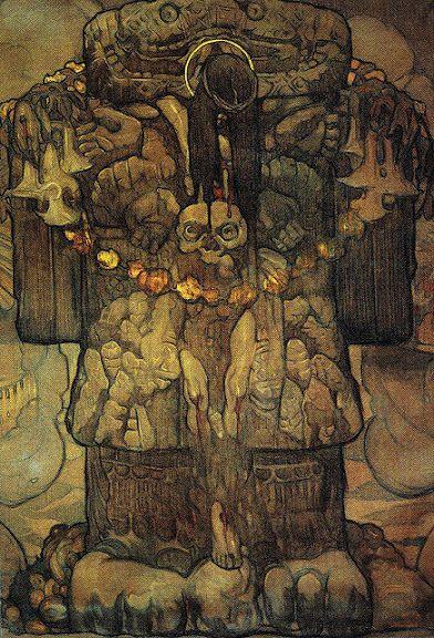 Saturnino Herran, Christ and Coatlicue
