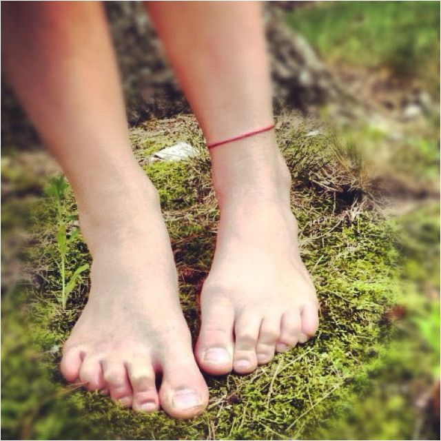 Ankle tattoo, red string of fate - Probably one of my next two tattoos