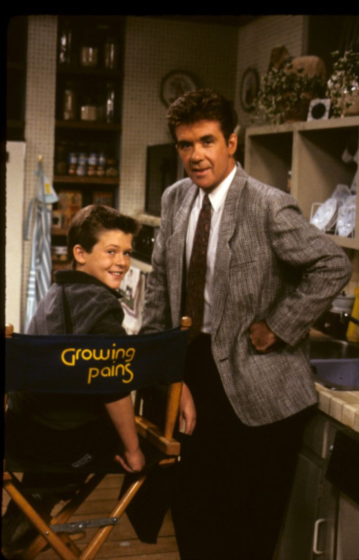 40 best growing pains images on pinterest alan thicke famous alan thicke and son robin thicke on the set of growing pains in 1988 nvjuhfo Image collections