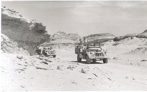 Long Range Desert Group in Libya