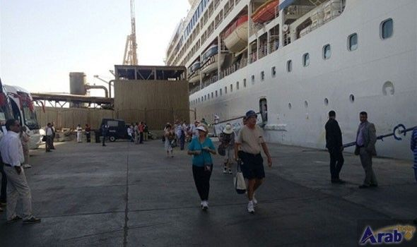 584 tourists arrive at Safaga Port