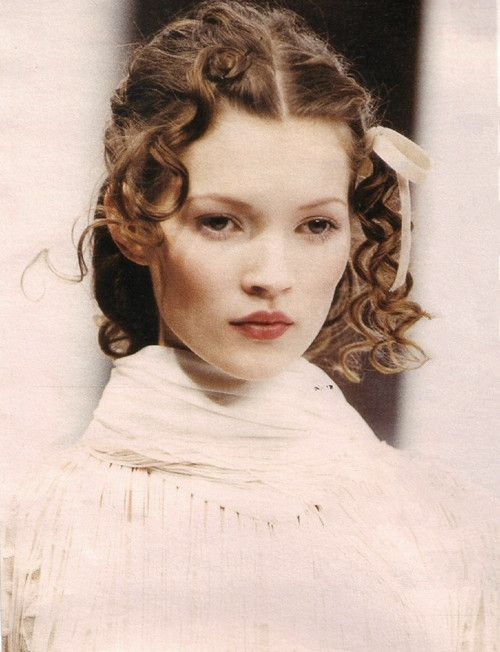 becauseitisjohnnydepp:  Kate Moss at Anna Sui Spring 1992
