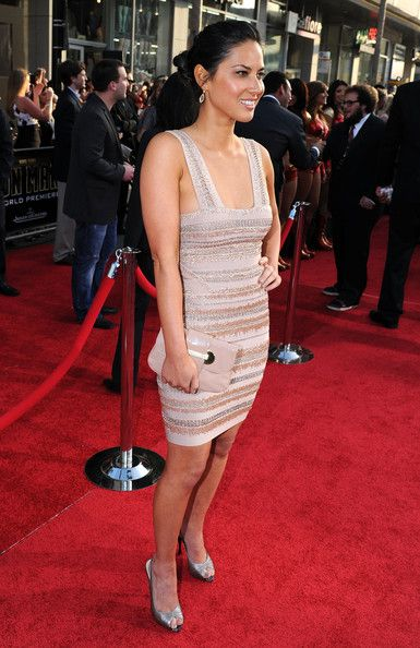 """Olivia Munn Photos - Actress Olivia Munn arrives at the world premiere of Paramount Pictures and Marvel Entertainment's """"Iron Man 2? held at El Capitan Theatre on April 26, 2010 in Hollywood, California. - Premiere Of Paramount Pictures & Marvel Entertainment's """"Iron Man 2"""""""