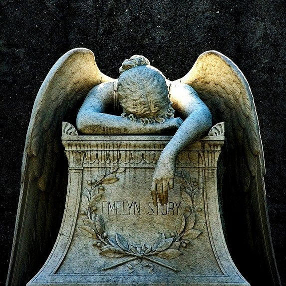 Emelyn Story, wife of William Wetmore Story, sculptor of Angel of Grief, Protestant Cemetery, Rome