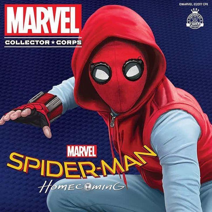 A closer look to Peter Parker's homemade suit via de Marvel Collector Corps. #spiderman #spidermanhomecoming #peterparker #tomholland #tonystark #ironman #robertdowneyjr #rdj #vulture #michaelkeaton #donaldglover #superhero #marvel #comics #mcu #marvelcinematicuniverse #comic #marvelcomics #avengersinfinitywar