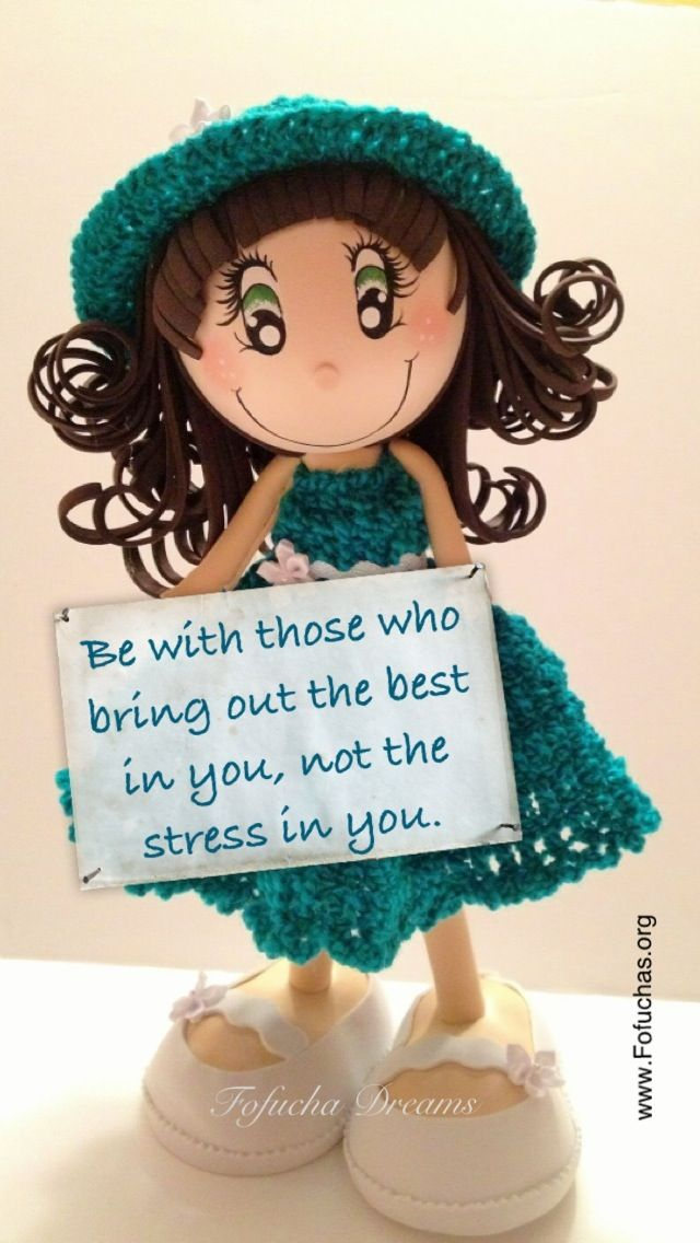 Today's Fofucha Quote..  Like us on facebook.com/fofuchashandmadedolls  #inspirational quotes #crafts #fofuchas