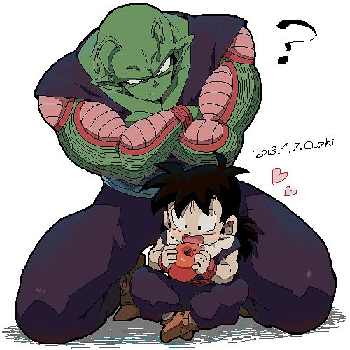 Piccolo and Gohan. #DBZ