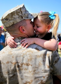 Soldier homecoming pictures and videos always makes me tear up!