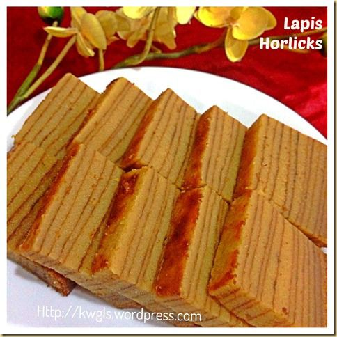 Not A Lapis Legit But A Rich Dense Lapis–Lapis Horlicks (Horlicks Layered Cake) | GUAI SHU SHU